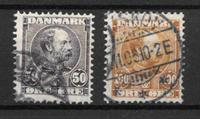 Danemark 1905 - AFA 50-51 - Oblitéré