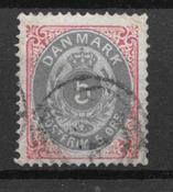 Danimarca 1879 - AFA 24 - Usata