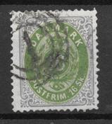 Danimarca 1871 - AFA 20 - Usata