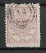Danimarca 1870 - AFA 12A - Usata