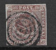 Danemark 1852 - AFA Ia - Oblitéré
