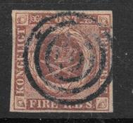 Danemark 1851 - AFA I - Oblitéré