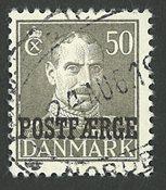 Danmark - Postfærge - AFA 31- stemplet