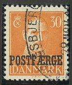 Danmark - Postfærge - AFA 29 - Stemplet