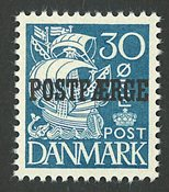 Danmark - Postfærge - AFA 24 - postfrisk
