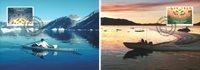 Grønland - Fangerliv - Flot sæt maximumskort