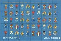 Danmark - Julemærker - 1965-69