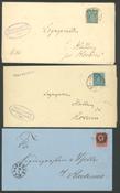 Danmark - Tjeneste - 1871-1910