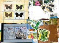 Divers pays, îles et territoires - Paquet de timbres - Neuf