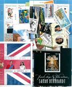 Diverse lande, øer og territorier - Frimærkepakke - Postfrisk