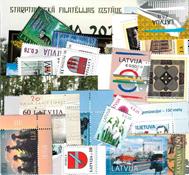 Letland - Frimærkepakke - Postfrisk