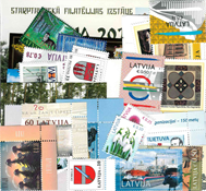 Lettonie - Paquet de timbres – Neuf