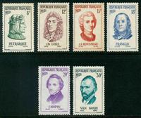 Frankrig - YT 1082-1087 Postfrisk