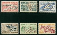 Frankrig - YT 960-965 Postfrisk