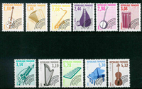 France - Préob. YT 213-223 - Neuf