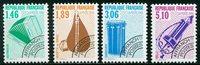 Frankrig - Forudannulleret  YT 206-209 - Postfrisk