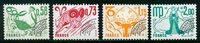 Frankrig - Forudannulleret YT 150-153 - Postfrisk