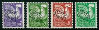 France - Préob. YT 119-122 - Neuf