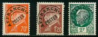 France - Préo. YT 84-86 - Neuf