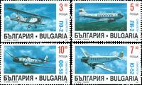 Bulgarien - Fly - Postfrisk sæt 4v