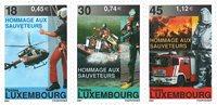 Luxemburg - Brand og redning - Postfrisk sæt 3v