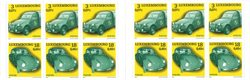 Luxembourg - Voitures - Carnet neuf