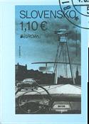 Slovakiet - Europa 2018 Broer - Stemplet frimærke