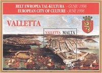 Malta - Kulturby - Postfrisk miniark