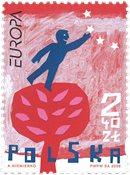 Polen - Integration - Postfrisk frimærke
