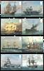 Grande-Bretagne - La Royal Navy, la Marine Royale - Série neuve 8v