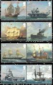 Gran Bretaña - Armada Real - Serie 8v. nuevo