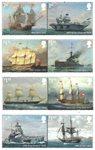 Great Britain - Royal Navy - Mint set 8v