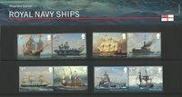 England - Flåden Royal Navy - Souvenirmappe