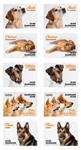 Danmark - Hunde - Postfrisk 10-stribe