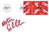 Danmark - Hænder kunst - Førstedagskuvert med frimærker
