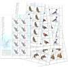 Jersey - Forest animals - Mint set of sheetlets