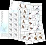 Jersey - Skovens dyr - Postfrisk arksæt