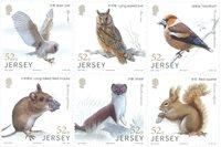 Jersey - Les animaux de la forêt - Série neuve 6v