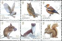 JERSEY - Metsän eläimiä - Postituore sarja (6)