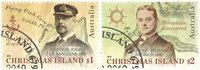 Christmas Island - Opdagelsesrejsende - Stemplet sæt 2v