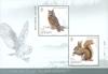 Jersey - Forest animals - Mint souvenir sheet 2v