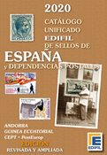 EDIFIL - Spain and colonies 2020 - Stamp catalogue