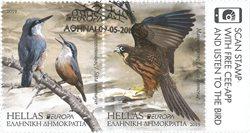 Grèce - EUROPA 2019 Oiseaux nationaux - Série oblitérée 2v