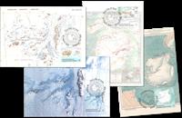 Antártico Australiano - Mapas - Tarjetas máximas