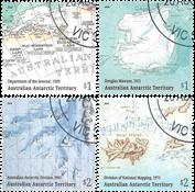 Antártico Australiano - Mapas - Serie 4v. usado