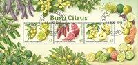 Australie - Agrumes - Bloc-feuillet oblitéré