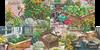 Australie - Le jardin - Série oblitérée 5v