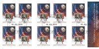Australien - Månelanding Astronaut - Stemplet hæfte