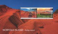 Norfolk Island - Philip Island - Postfrisk miniark