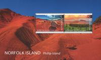 Îles Norfolk - Île Philip - Bloc-feuillet neuf